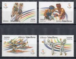 Laos 2000 Mi 1727 – 1730 MNH Sydney 2000 - Laos