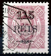 !■■■■■ds■■ Angola 1902 AF#68a ø Surcharges 115/150 Chalky 11,5 (x13158) - Angola