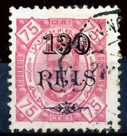 !■■■■■ds■■ Angola 1902 AF#70a ø Surcharges 130/75 Chalky 11,5 (x13159) - Angola
