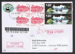 Vietnam 2016 Registered Letter To Laos 22.7.2016 - Vietnam