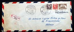 GREENLAND 1957 Letter To Denmark Søndre Strømfjord ( Lot 2019) - Cartas
