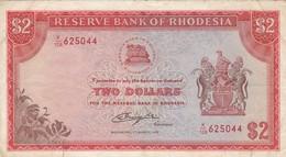 Rhodesia, $2, Bank Note. Salisbury 1st March 1976 - Rhodesia