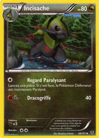 Carte Pokemon 68/101 Incisache 80pv 2013 - Pokemon
