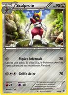 Carte Pokemon 30/39 Scalproie 90pv 2013 - Pokemon