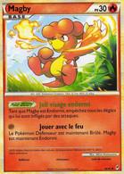 Carte Pokemon 46/95 Magby 30pv 2011 - Pokemon
