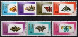 Mongolia - Butterflies - #1904-10(7) - MNH - Mongolia