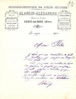 BLANDIN ALEXANDRE  Menuiserie, Atelier De Mécanique   CERCY La TOUR  (Nievre)  1910 - 1900 – 1949