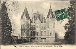 CPA Saint Benin D'Azy Nièvre, Le Chateau - Frankreich