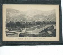 """83-TOULON-Une Vue Animée Des """"FORTIFICATIONS """"Cote De Sainte-Anne En 1900 - Toulon"""