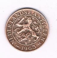 1 CENT 1963 NEDERLANDSE ANTILLEN /7408/ - Antillas Nerlandesas