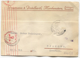 GERMANY WW2  THIRD REICH - MORCHENSTERN CZECHIA, MEMORANDUM POSTAL STATIONERY, Year 1944 - Germania