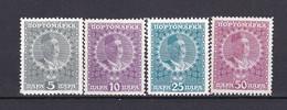 Montenegro - Portomarken - 1913 - Michel Nr. 23/26 - Ungebr.m.Falz - Montenegro