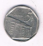 5 CENTAVOS 1994 CUBA /7418/ - Cuba