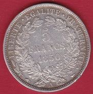 France 5 Francs Cérès 1850 A - J. 5 Francs