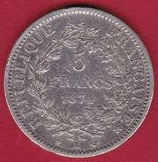 France 5 Francs Hercule 1874 K - J. 5 Francs