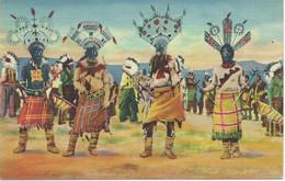 Devil Dance Ogf The Apache Indians - Indianer