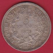 France 5 Francs Hercule 1873 A - J. 5 Francs