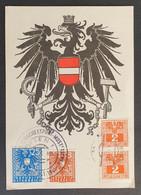 Österreich 1945, Reco Sonder-Postkarte MiF Mit Porto, Sonderstempel WIEN - 1945-60 Covers