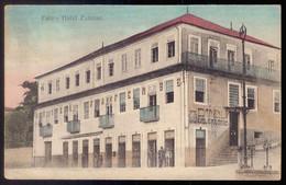 FAFE Hotel Fafense / Fachada De Loja Mercearia / Tabacos De Manoel S.Castro). Old Postcard (Braga) PORTUGAL - Braga