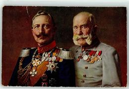 53106055 - Kaiser Wilhelm II. Kaiser Franz Josef I. Uniform Orden - War 1914-18