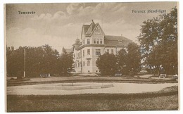 RO 32 - 42 TIMISOARA, Romania, Park Joseph Ferencz - Old Postcard - Unused - Romania