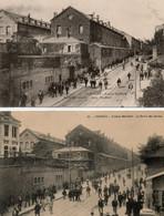87. 2 CPA. LIMOGES - Sortie Des Ouvriers Des Usines - Haviland - Avenue Garibaldi - - Industry