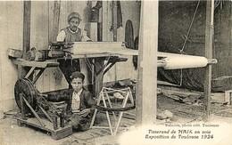 France - 31 - Toulouse - Expo. 1924 - Tisserand De Haik En Soie - Toulouse