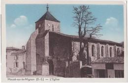79. MAUZE-SUR-LE-MIGNON. L'Eglise (1) - Mauze Sur Le Mignon