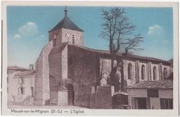 79. MAUZE-SUR-LE-MIGNON. L'Eglise (2) - Mauze Sur Le Mignon