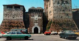 Italia RIMINI Rocca Malatestiana ITALIE Castel Sismondo Forteresse Des Malatesta Automobiles ITALY Fortress Automobilia - Rimini