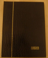 ALBUM LINDER 300X220 10 BANDES X 32 PAGES FOND BLANC TRES BON ETAT - Albums Met Klemmetjes