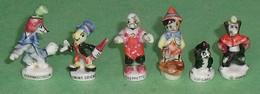 Série De Fèves Complète : Pinocchio , Série Ancienne - Disney