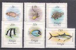 Tonga 1984 - Lot Freimarken - Postfrisch MNH - Tiere Animals Fische Fishes - Fische