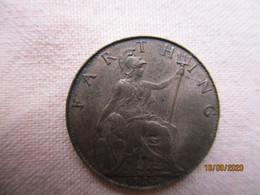 Great Britain: Farthing 1924 - 1902-1971 : Monete Post-Vittoriane