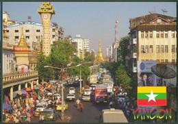 Collection Lot Of 8x Burma Myanmar Naypyidaw Yangon Mandalay - Myanmar (Birma)
