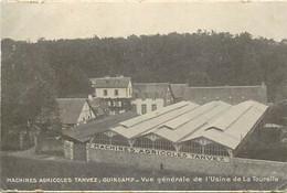 - Côtes D Armor -ref-D216- Guingamp - Machines Agricoles Tanvez - Usine De La Tourelle - Voir Description - - Guingamp