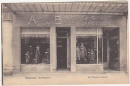 51 - Magasin -  AU BON GOUT / A LA BELLE JARDINIERE (Place De La République) CHALONS-sur-MARNE / Années 30 - Tiendas