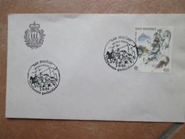 ANNULLO SPECIALE 1.8.1984 Mostra Garibaldina Museo Postale Storia Risorgimento - Briefe U. Dokumente