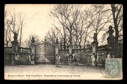 92 - BOURG-LA-REINE - PETIT CHAMBORD, PROPRIETE DE LA DUCHESSE DE TREVISE - Bourg La Reine