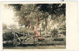 Litauen - Kielmy - Kelme - Friedhof Cimentiere  Soldats Allemande  -guerre 14/18-WWI  Carte Photo Allemande - Lituania