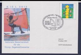 Germany Postal Stationary 2002 Kiel Nationale Bewerberstadt Für Die Olympischen Segelwettbewerbe 2012 - Used - Sommer 2012: London