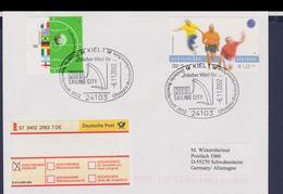 Germany Registered Cover Posted Kiel 2002 Deutsche Bewerberstadt  2012 (G117-18) - Sommer 2012: London