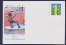 Germany Postal Stationary 2002 Kiel Nationale Bewerberstadt Für Die Olympischen Segelwettbewerbe 2012 - Sommer 2012: London