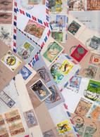 SRI LANKA CEYLAN CEYLON - Beau Lot Varié De 206 Enveloppes Timbrées Air Mail Covers Cover Batch Of Letters Stamps Timbre - Sri Lanka (Ceylon) (1948-...)