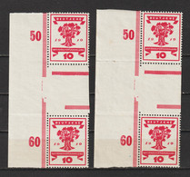 MiNr. 107 ZS **  (0580) - Unused Stamps