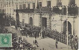 ESPAGNE - ALICANTE - RARE - UNA RECEPCION EN EL AYUNTAMIENTO - 1905 - Alicante