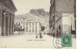 ESPAGNE - ALICANTE - Teatro Principal - 1905 - Alicante