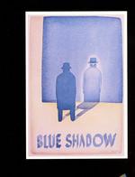 Folon Affiche Centre De L'affiche  Toulouse 1989 Blue Shadow - Folon