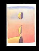 Folon à Jacques Prévert Nouvelles Images CP 351 1980 - Folon