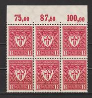 MiNr. 199 ** Oberrand - Unused Stamps